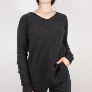 Lord + Taylor Cashmere V Neck Sweater
